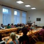 Sdružení obrany spotřebitelů Moravy a Slezska, z.s. ve spolupráci s Městským úřadem ve Frenštátě p.R. uspořádal 14.prosince 2015  v Klubu důchodců, Kopaná 917, Frenštát p.R. besedu.