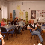 Beseda v Ostravském spolku neslyšících v Ostravě