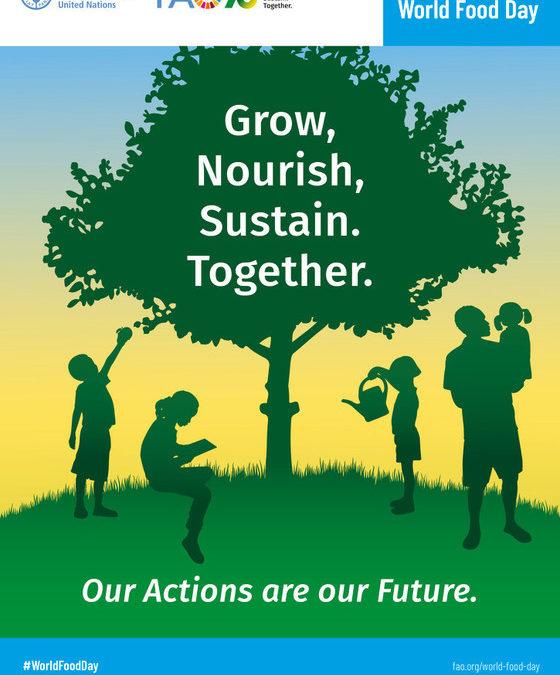 16. říjen 2020 – Světový den výživy